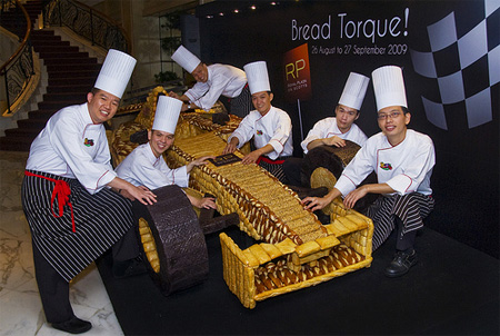 Bread F1 Race Car