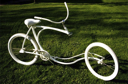 Forkless Bicycle