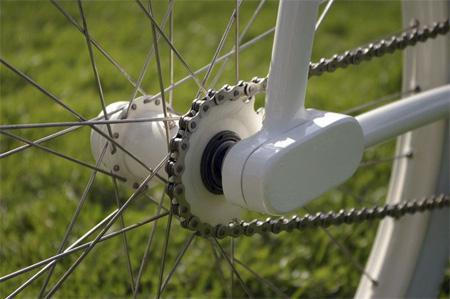Forkless Cruiser Bike