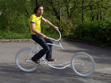 Cool Forkless Bicycle Design