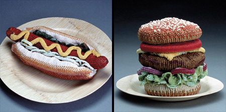 Knitted Food by Ed Bing Lee