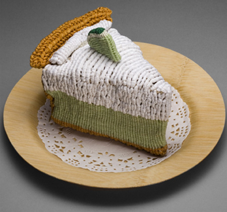 Knitted Key Lime Pie