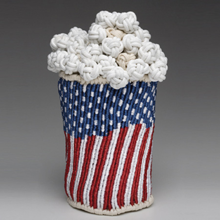 Knitted Pop Corn