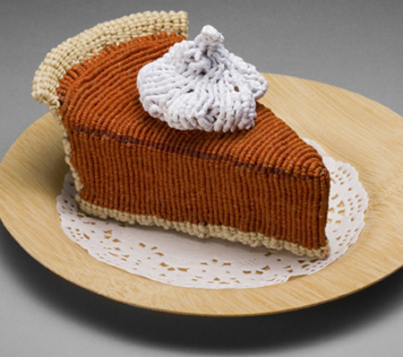 Knitted Pumpkin Pie