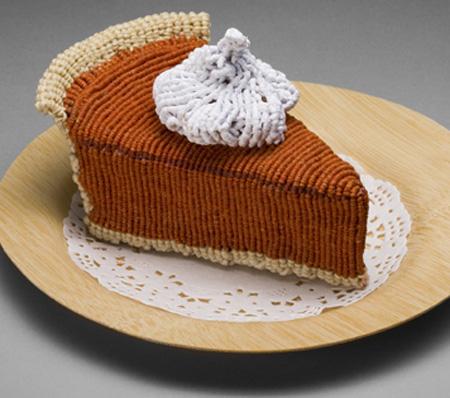 Knitted Pumpkin Pie