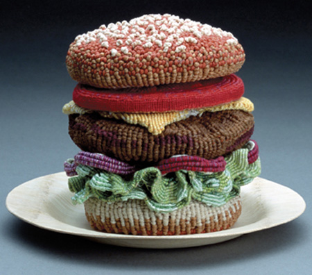Knitted Burger