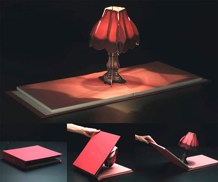Book of Lights Lamp
