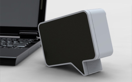 Speech Bubble Speaker