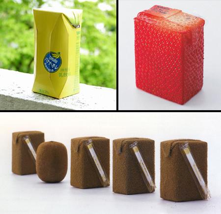 Literal Fruit Juice Packaging