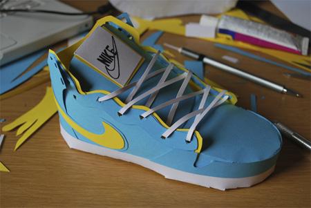Nike Paper Sneakers