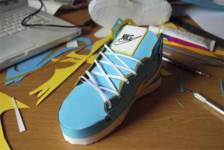 Nike Paper Shoes