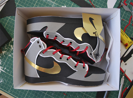 Sneakers made from Paper