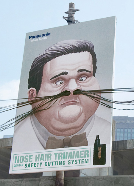 Nose Hair Trimmer Ads