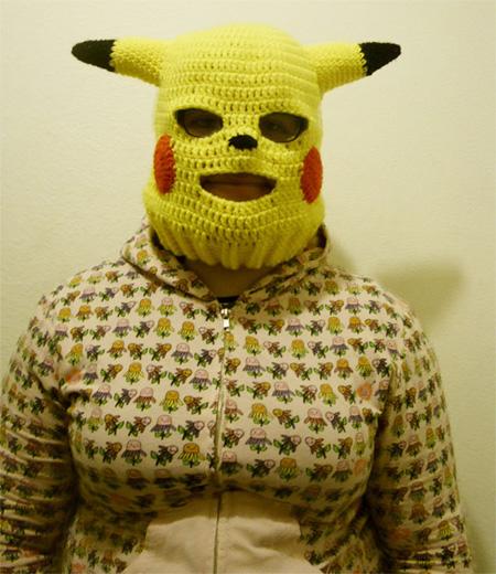 Pikachu Ski Mask