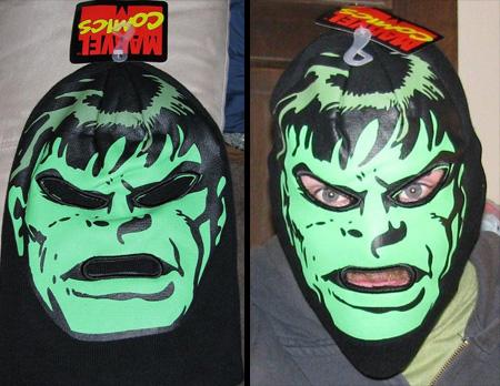 Hulk Ski Mask