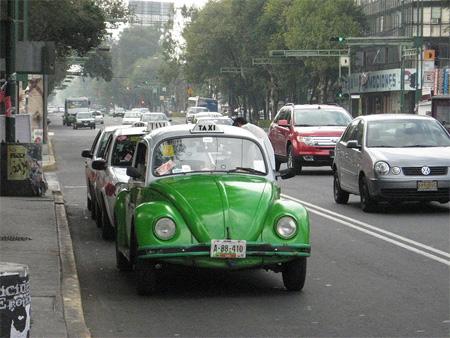 VW Beetle Taxi