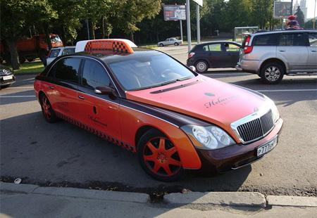Maybach Taxi