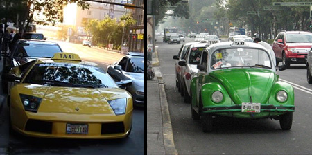 10 Cool and Unusual Taxis