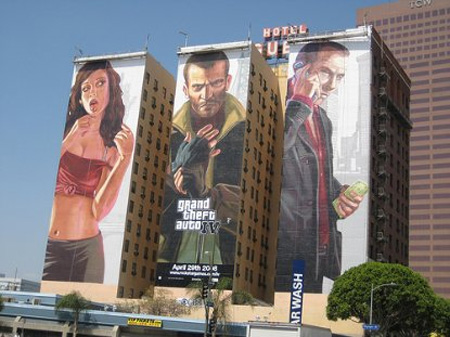 GTA IV Building Advertisement