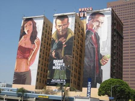 GTA IV Building Advertisement