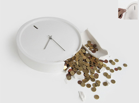 Money Box Clock