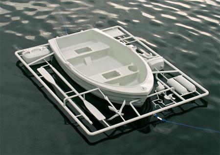 Model Kit Boat