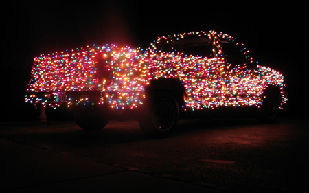 The Christmas Lights Truck