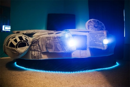 Millennium Inspired Falcon Bed
