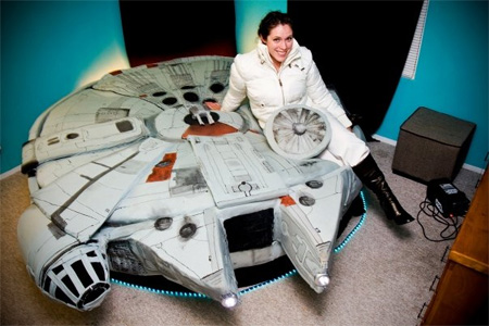 Star Wars Bed by Kayla Kromer