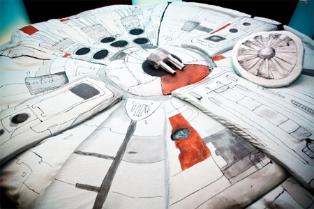 Star Wars Inspired Bed