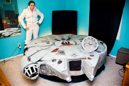 Bed Inspired by Star Wars