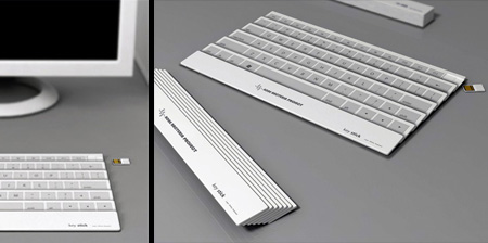 Cool Folding Keyboard Concept