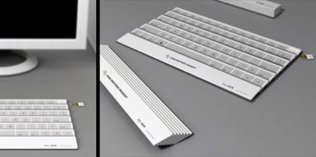 Cool Folding Keyboard Concept