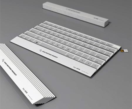 Innovative Folding Keyboard