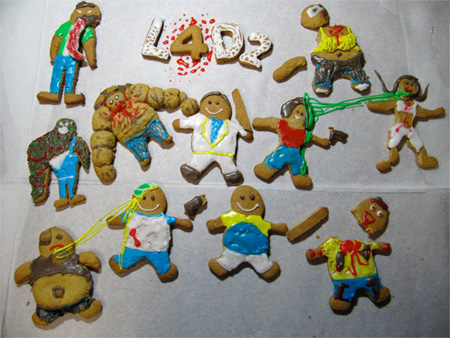 Left 4 Dead 2 Gingerbread Zombies
