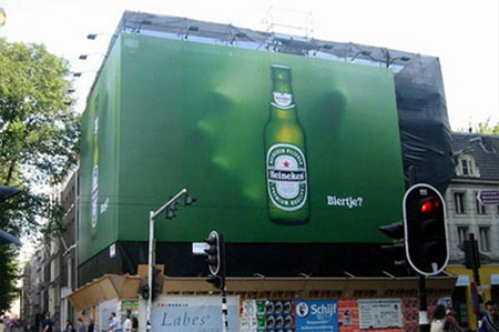 Heineken Beer Billboard