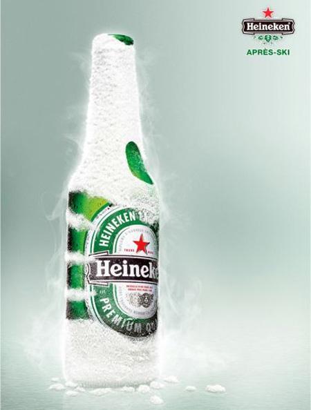 Heineken Snow Ad