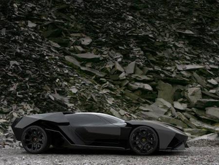 Lamborghini Batmobile Concept