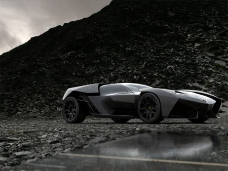 Dark Knight Lamborghini