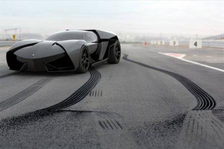Aggressive Lamborghini
