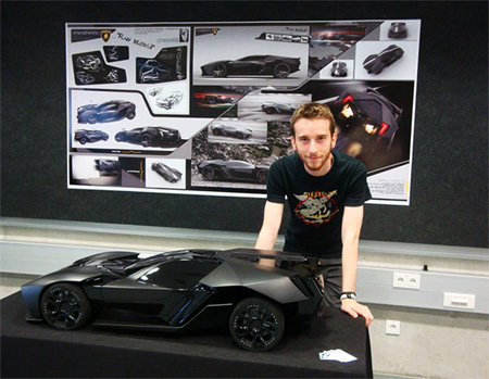 Lamborghini Ankonian by Slavche Tanevsky