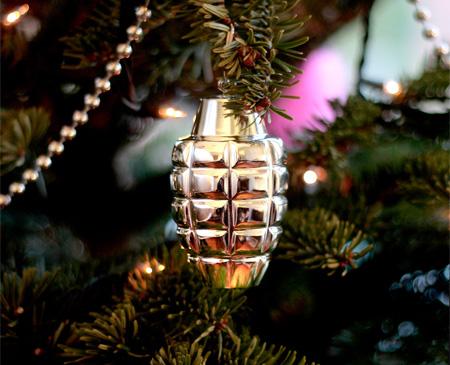 Grenade Ornaments