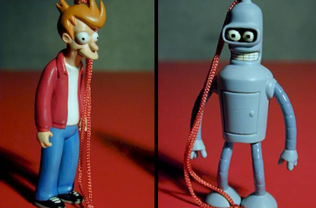 Futurama Ornaments