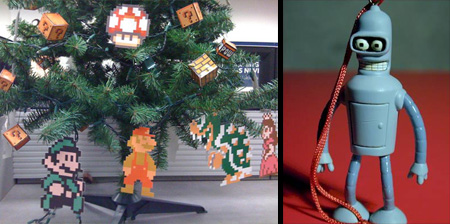 14 unusual christmas ornaments - Unusual Christmas Decorations