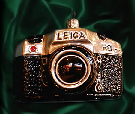 Leica Camera Ornament