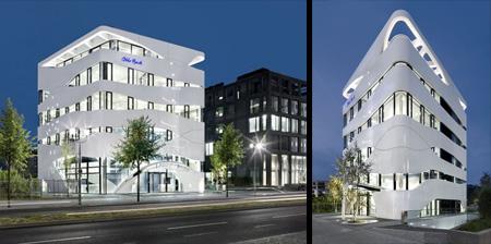 Futuristic Building in Germany