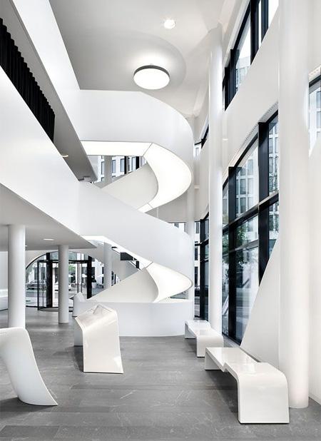 Inside Otto Bock Building