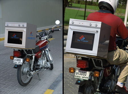 Dominos Bike Oven