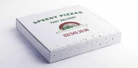 Speedy Pizza Flies Ad
