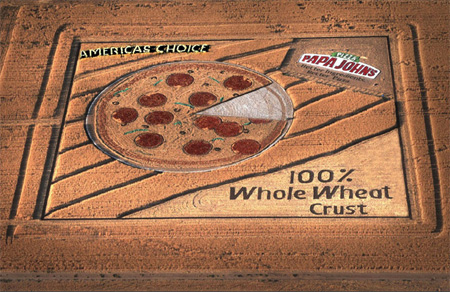 Pizza Crop Circle